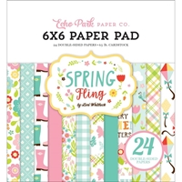"Εικόνα του Echo Park Double-Sided Paper Pad 6""X6"" - Spring Fling"