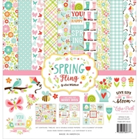 "Εικόνα του Echo Park Collection Kit 12""X12"" - Spring Fling"