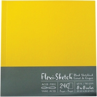 "Εικόνα του Flexi-Sketch Blank Sketch Book 8""X8"" - Butternut"