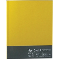 "Εικόνα του Flexi-Sketch Blank Sketch Book 8.5""X11"" - Butternut"