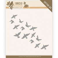 Εικόνα του Μήτρα Κοπής - Find It Trading Jeanine's Art Birds & Flowers Die - Flock Of Birds