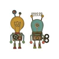 Εικόνα του Μητρες Κοπης Sizzix Thinlits Dies By Tim Holtz - Robotic