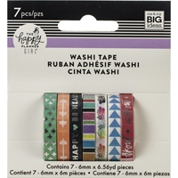 Εικόνα του Happy Planner Skinny Washi Tape - Healthy Hero