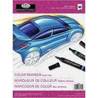 """Εικόνα του Color Marker Pad 9""""X12"""" - Μπλοκ για Μαρκαδόρο"""