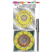 Εικόνα του Stampendous Stencil Duo - Sunflower