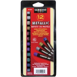 Picture of Sargent Art Gallery Metallic Oil Pastels