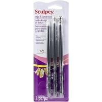 Εικόνα του Sculpey Style & Detail Tools  - Σετ Εργαλείων για Πηλό