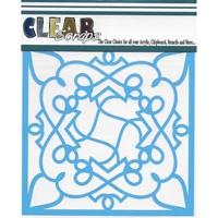 """Εικόνα του Clear Scraps Stencils 12""""X12"""" - Doodling"""