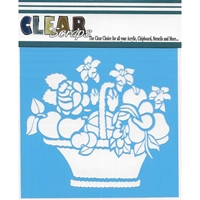 "Εικόνα του Clear Scraps Stencils 12""X12"" - Mixed Basket"