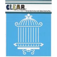 """Εικόνα του Clear Scraps Stencils 12""""X12"""" - Oriental Cage"""
