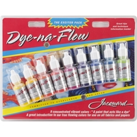 Εικόνα του Jacquard Dye-Na-Flow Exciter Pack .5oz 9/Pkg