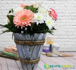 Flower Container Revamp by Natassa Blazaki