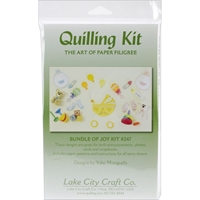 Εικόνα του Lake City Craft Quilling Kit - Bundle of Joy