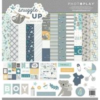 """Εικόνα του Συλλογή Scrapbooking PhotoPlay 12""""X12"""" - Snuggle Up Boy"""
