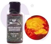 Εικόνα του Finnabair Art Alchemy Liquid Acrylic Paint - Carmine