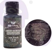 Εικόνα του Finnabair Art Alchemy Liquid Acrylic Paint - Ink Black
