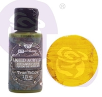 Εικόνα του Finnabair Art Alchemy Liquid Acrylic Paint - True Yellow