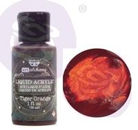 Εικόνα του Finnabair Art Alchemy Liquid Acrylic Paint - Tiger Orange