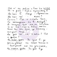 Εικόνα του Σφραγιδα Clear Finnabair 2.5'' x 2.5'' - Secret Notes