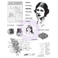 """Εικόνα του Finnabair Cling Stamps 6""""X7.5"""" - Beautiful Story"""