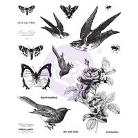 """Εικόνα του Finnabair Cling Stamps 6""""X7.5"""" - Wild & Free"""
