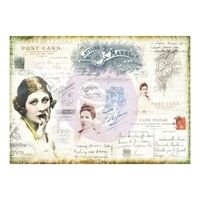 Εικόνα του Finnabair Mixed Media Tissue Paper - Carte Postale