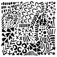 Εικόνα του Crafter's Workshop Template 15x15 - Texture Love