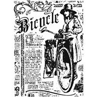 Εικόνα του Sharon Callis Clear Stamp - Bicycle
