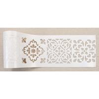 """Εικόνα του Redesign Stick & Style Stencil Roll 4""""X15yd - Casa Blanca Tile"""