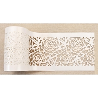 "Εικόνα του Redesign Stick & Style Stencil Roll 4""X15yd - Tea Rose Garden"
