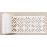 "Εικόνα του Redesign Stick & Style Stencil Roll 4""X15yd - Calypso Lattice"