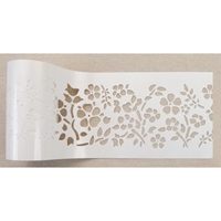 "Εικόνα του Redesign Stick & Style Stencil Roll 4""X15yd - Royal Ann Garden"