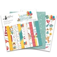 Εικόνα του Piatek Μπλοκ Χαρτιών Happy Birthday 12''x12''
