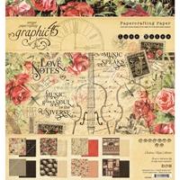 """Εικόνα του Graphic 45 Double-Sided Paper Pad 8""""X8""""  - Love Notes"""