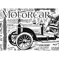 Εικόνα του Sharon Callis Clear Stamp - Motorcar