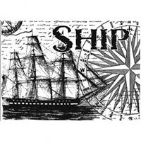 Εικόνα του Sharon Callis Clear Stamp - Ship