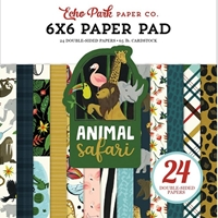 "Εικόνα του Echo Park Double-Sided Paper Pad 6""X6"" - Animal Safari"