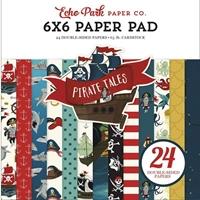 """Εικόνα του Echo Park Double-Sided Paper Pad 6""""X6"""" - Pirate Tales"""