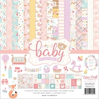 "Εικόνα του Echo Park Collection Kit 12""X12"" - Hello Baby Girl"