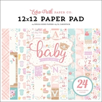 "Εικόνα του Echo Park Single-Sided Paper Pad 12""X12"" - Hello Baby Girl"