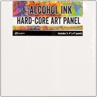 "Εικόνα του Tim Holtz Alcohol Ink Hard Core Art Panel 4""X4"""