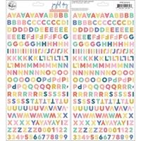 Εικόνα του Joyful Day Puffy Stickers - Mini Alpha