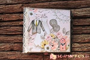 Mr & Mrs Mini Album by Nicoleta Papasaranti