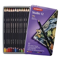 Εικόνα του Derwent Studio Pencils - Tin of 12
