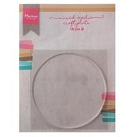 Εικόνα του Marianne Design Mixed Media Craft Plate Circle 10 cm