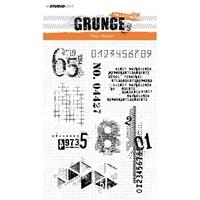 Εικόνα του Studio Light Grunge Collection Σετ Σφραγίδες A5 - No. 340