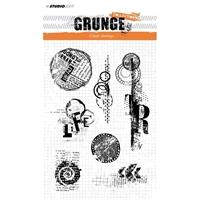 Εικόνα του Studio Light Grunge Collection Σετ Σφραγίδες A5 - No. 341