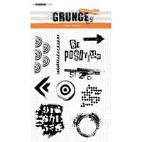 Εικόνα του Studio Light Grunge Collection Σετ Σφραγίδες A5 - No. 362