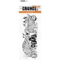 Εικόνα του Studio Light Grunge Collection Σφραγίδα - No. 364