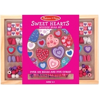 Εικόνα του Wooden Bead Set - Sweet Hearts